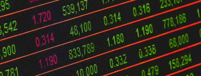 stock exchange board for oil