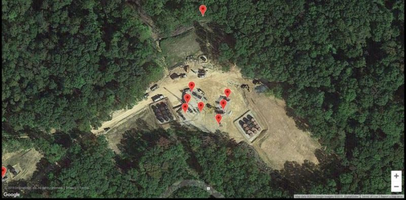 active well site map
